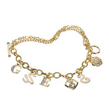 Bracelets Golden Plated Wrist Chain Woman Bracelets Multi-layer Letters Jewelry
