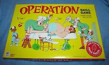 """Operation Skill Game """"BRAIN FREEZE"""" First Edition Milton Bradley  100% COMPLETE"""