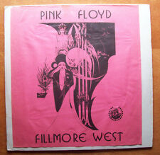 PINK FLOYD FILLMORE WEST CBM LABEL