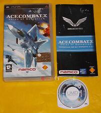 ACE COMBAT X SKIES OF DECEPTION Psp Versione Italiana 1ª Edizione ••••• COMPLETO