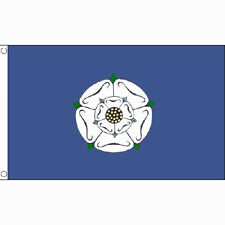 Yorkshire Old Large Flag 8Ft X 5Ft England English County Banner With 2 Eyelets