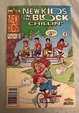 Vintage Nkotb New Kids On The Block Comic Book #3 'Chillin', Feb. 1991, Made Usa