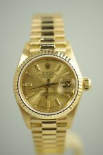 ROLEX 6917 OYSTER PERPETUAL DATEJUST 18K GOLD AUTOMATIC LADIES WATCH