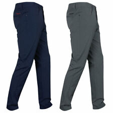 Dwyers & Co Mens Micro Tech Golf Technical Water-Resistant Wicking Trousers