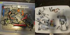 1 LB Lego Technics - Bricks, beams,  rims, axles, gears more