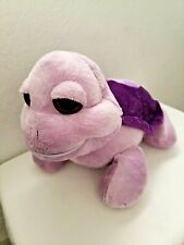 People Pals I Love You Turtle Plush Stuffed Animal Large Sad Eyes Purple