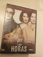 Dvd  LAS HORAS con meryl  Streep ,nicole kidman (PRECINTADO nuevo)
