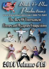 2014 Vol. 19 Best of Forms and Weapons Competition 2 hour DVD