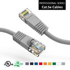 Fuji Labs Gray Cat5E UTP Ethernet Network Booted Cable