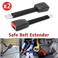 2PCS Car Seat Safe Belt Extender 21mm Extension Buckle Clip Universal SeatBelt