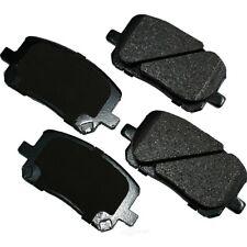 Disc Brake Pad Set-ProACT Ultra Premium Ceramic Pads Front Akebono ACT923