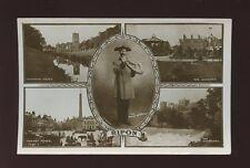 Yorkshire Yorks RIPON M/view  Hornblower c1900/10s? RP PPC