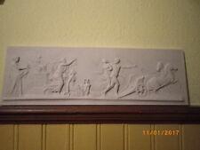 Klassizismus Marmor Relief Poseidon -  Brautraub der Amphitrite Neu 64 cm Nr 1