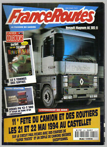 FRANCE ROUTES ROUTIERS N° 150  sans POSTER CAMION  sans COLLECTOR's 1994 BE