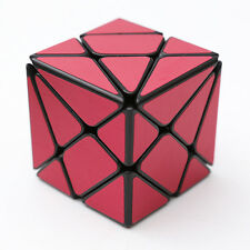 Red brushed metallic Turbo master Skewb Magic King Kong Axis Cube Twist Puzzle
