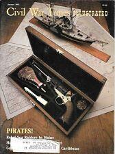 Civil War Times Illustrated Jan.1982 New Bern Raid Pirates Sibley Tent Vicksburg