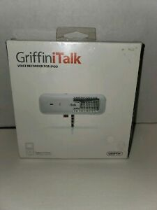GRIFFINITALK VOICE RECORDER FOR IPOD  *** NEW ***