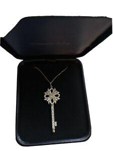 Tiffany Victoria Key Pendant