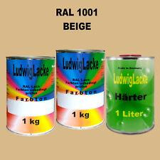 RAL 5003 Saphirblau 3 kg Set Acryllack glänzend mit Härter Ral Farben