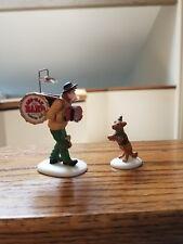 One-Man Band & The Dancing Dog- Heritage Village -Mib - Dept 56 - Item #58891