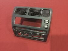 1993-1997 Toyota Corolla Dash Radio Bezel Oem 93-97 Corolla Radio Bezel