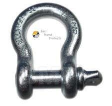 """(8) 7/8"""" SCREW PIN ANCHOR SHACKLE CLEVIS RIGGING BUMPER JEEP OFF ROAD TRUCK TOW"""