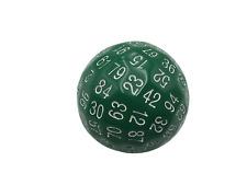SkullSplitter Single 100 Sided Polyhedral Dice (D100) | Solid Green Color (45mm)