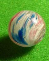".66"" NM Gorgeous Peppermint Blizzard HYBRID OnionSkin JOSEPH GERMAN Marbles"