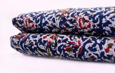 100% Cotton Fabric Hand Print Sewing Dressmaking Clothes Handmade DIY Handcrafts