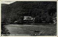 Bad Lauterberg im Harz Ansichtskarte ~1930 Partie am Wiesenbeeker Teich Boote