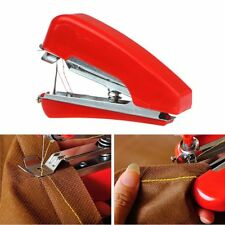 Mini Portable Hand-Held Cordless Needlework Fabrics Sewing Machine Travel Home