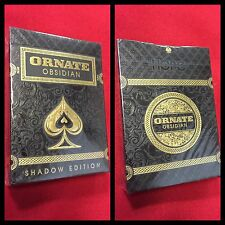 Not Branded Bicycle Ornate Playing Cards Shadow Edition- Jeu De Cartes Rare