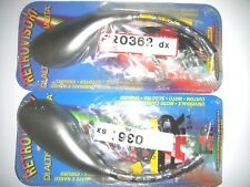 CP MIROIRS BARRE CHROME COUVERTURE GRIGIO SATINÉE MOTO UNIVERSEL 0361/0362