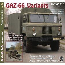 GAZ-66 Variants in detail NO 006, WWP by F. Kořán, M. Burian, A. Knížek