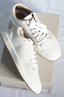 * Lacoste Damen Tamora Lace UP Caw Sneakers Halbschuhe Elfenbein Leder Gr. 41