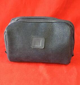 New  Continental Airlines Travel Kit Zipper Bag: Shaving Socks Brush#50