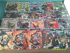 Suicide Squad Rebirth Large Lot of 26 Issues #5,6(3)7(3) 10,11,11,12,13,14 Plus