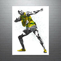 Usain Bolt Jamaica Poster FREE US SHIPPING