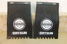 2 NEW DATSUN TRUCK PICKUP 520 521 620 720 REAR SPLASH GUARD MUD FLAPS