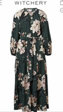 Gorgeous Witchery Current Floral Long Sleeve Dress Size 10 Brand New With Tag
