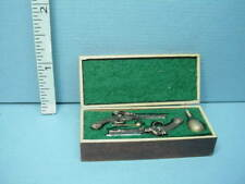 Miniature Dueling Pistols in Case Handcrafted #210 Terry Harville 1/12th