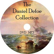 Daniel Defoe Audio Book Collection on 1 MP3 DVD Crusoe Flanders Fiction English