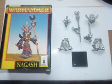 Original Warhammer Metal Nagash Plus 4 columns and two stones for free
