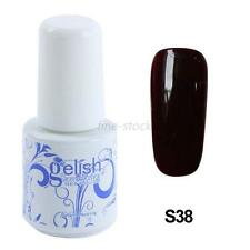 6ML Nail Art Soak Off Gel Polish UV LED Lamp Glitter Tips Decoration S38 Hot