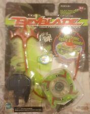 Ultra Rare Hasbro Beyblade 2002 Electronic Dragoon Storm Left Spin Top Green