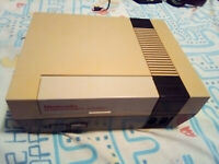 Nintendo Nes Console System, all 100% Genuine With Zapper and Duck Hunt Game!