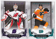 18-19 Artifacts Martin Brodeur /20 PURPLE NJ Devils 2018