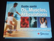 Guide sante OS MUSCLES ARTICULATIONS by Reader's Digest 2011 French NEW