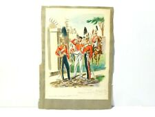 Original Watercolour Painting 17th Lancers Copy by Dighton 1882 #RGA