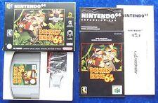 Donkey Kong 64, Expansion Pak, Nintendo 64 Spiel, OVP Anleitung